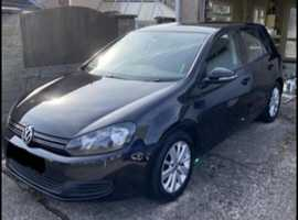 Volkswagen Golf, 2012 (62) black hatchback, Manual Diesel, 150,000 miles