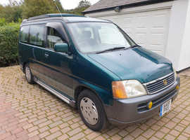 Honda Stepwagon 2.0 Auto 2 berth pop top camper fantastic condition