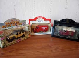 3 boxed Lledo model cars