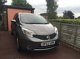 Nissan Note, 2014 (63) Grey MPV, Manual Petrol, 18,600 miles