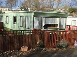 Cheap static caravan on Pen y glol Caravan park