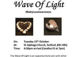 The TeddyRose Foundation Wave of Light Event