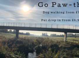 Go Paw-th dog walking/ Pet service