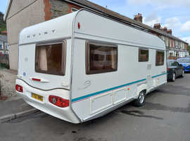 Geist 555 2005 4 berth lwith awning and rest of the things to start touring