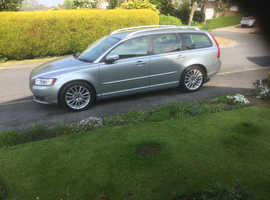 Volvo V50, SE LUX Drive E Start/Stop 2010 (60) Silver Estate, Manual 54200miles