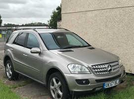 Mercedes M-CLASS, 2007 (57) Silver Estate, Automatic Diesel, 114,000 miles