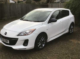 Mazda MAZDA 3, 2013 (13) White Hatchback, Manual Petrol, 39,500 miles