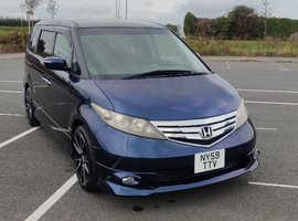 Honda Aerodeck, 2009 (59) blue mpv, Automatic Petrol, 54216 miles