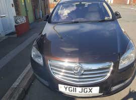 Vauxhall Insignia, 2011 (11) Brown Hatchback, Manual Diesel, 169,467 miles