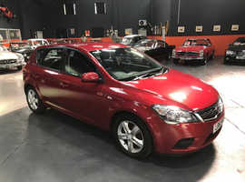 Kia Ceed, 2012 (61) Red Hatchback, Manual Petrol, 80,187 miles