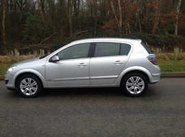 VAUXHALL ASTRA DESIGN 2008 MOT 8 MONTHS CHEAP CAR THAT IS VERY RELIABLE HALF LEATHER ALLOYS AIR CON