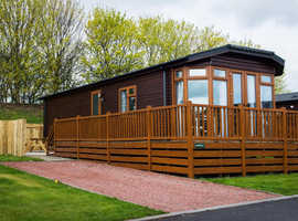 Mad March Winter Weekends in a beautiful Northumberland HOT TUB Lodge