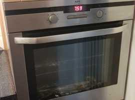 Aeg built in fan oven