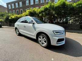 Audi Q3, 2018 (67) White Estate, Semi auto Petrol