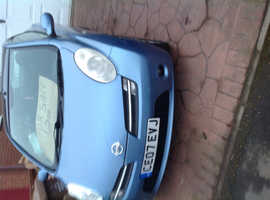 Nissan Micra, 2007 (07) Blue Convertible, Manual Petrol, 9,600 miles