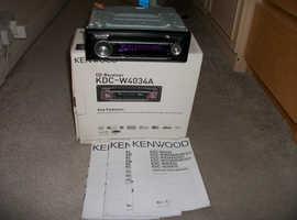 Kenwood xar radio & DV player