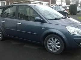 Renault Megane, 2008 (08) Blue MPV, Manual Petrol, 89,034 miles