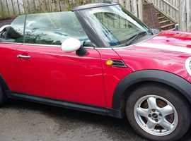Mini MINI, 2010 (60) Red Convertible, Manual Petrol, 52,000 miles