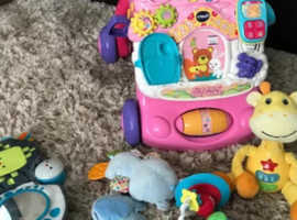 Lots of preloved baby items