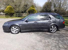 Saab 9-5, 2008 (58) Grey Estate, Automatic Diesel, 138,000 miles
