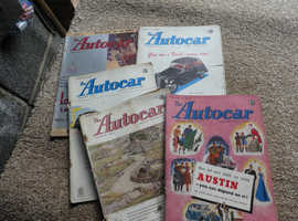 AUTOCAR & THE MOTOR MAGAZINES FROM 1940's