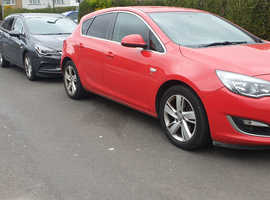 Vauxhall Astra SRI ECOFLEX S/S 2013 Red Hatchback, Manual Diesel, 125K miles