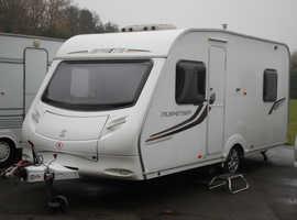 Sprite Musketeer TD 2011 5 Berth Caravan + Motor Movers + Full Isabella Awning