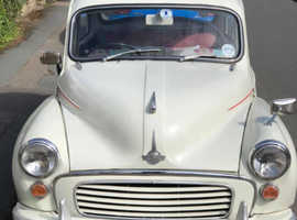 Morris MINOR 1000, 1970 (H) White Saloon, Manual Petrol, 17,600 miles