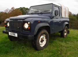 Land Rover DEFENDER 90, 2011 (61) Blue 4x4, Manual Diesel, 64,000 miles