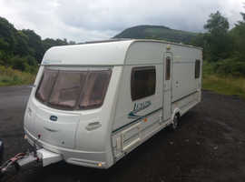 Lunar Lexon 2005 4 berth fixed double bed come's ready to use