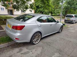 Lexus Is, 2007 (57) Silver Saloon, Manual Diesel, 98,633 miles