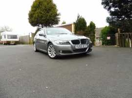 BMW 3 Series, 2009 (59) Grey Saloon, Manual Diesel, 112,000 miles