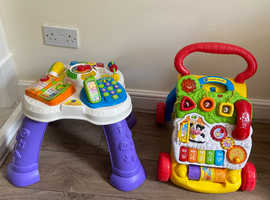 VTEC Activity Table and VTEC first steps baby walker