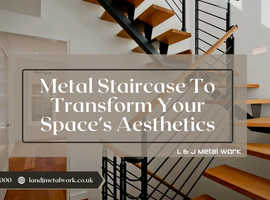 Metal Staircase To Transform Your Space's Aesthetics