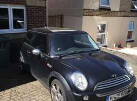 Mini One, 2006 (06) Black Hatchback, Manual Petrol, 98,000 miles