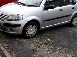 Citroen C3, 2004 (54) Silver Hatchback, Manual Petrol, 11,600 miles