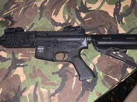 UMP G&G and a valkun m4