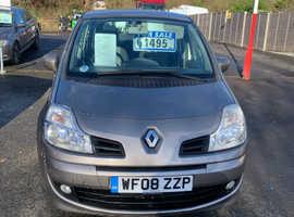 Renault Modus, 2008 (08) Beige Hatchback, Manual Diesel, 108,000 miles