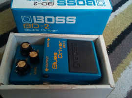 Brand new boss bd 2 blues driver pedal