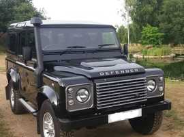 Land Rover DEFENDER 110, 2015 (15) Black 4x4, Manual Diesel, 24,100 miles