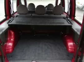 Fiat Doblo, 2003 (53) red mpv, Manual Diesel, 98,000 miles