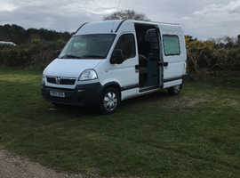 Camper/Day van/ all rounder 2.5 litre Diesel (Vauxhall Movano)