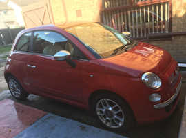 Fiat 500, 2008 (08) Red Hatchback, Manual Petrol, 72,270 miles