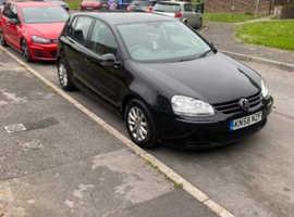 Volkswagen Golf, 2008 (58) black hatchback, Manual Diesel, 162475 miles