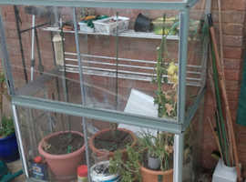 Free leanto green house
