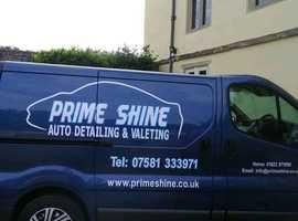Prime shine car valeting
