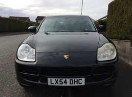 Porsche Cayenne, 2004 (54) Black Estate, Automatic Petrol, 93,132 miles