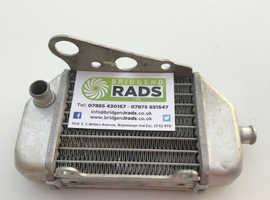 Automotive radiator oil cooler repair service and pump hire