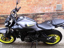 Yamaha MT-07 FSH 12 Month MOT