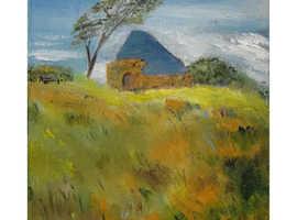Original Oil Painting by W. J. Ferguson - Unknown Title